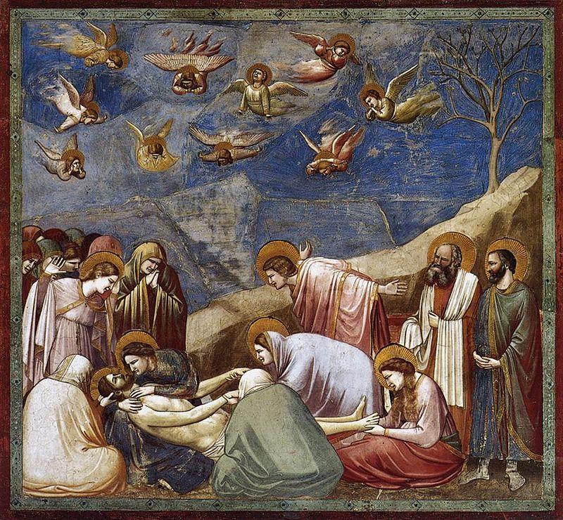 Giotto déposition de croix
