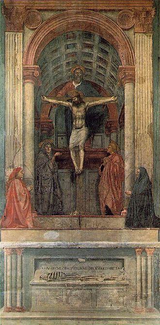 Masaccio - La Sainte Trinité