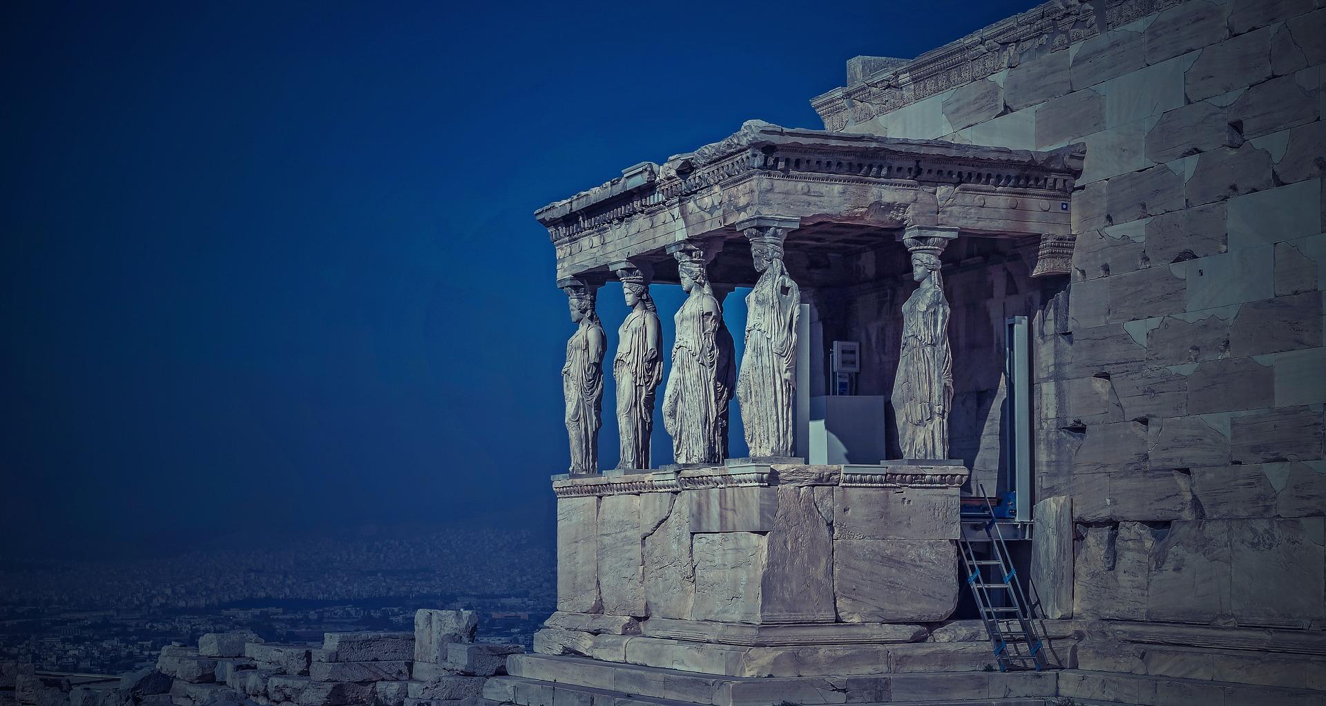 Grèce antique - Athène - Érechthéion