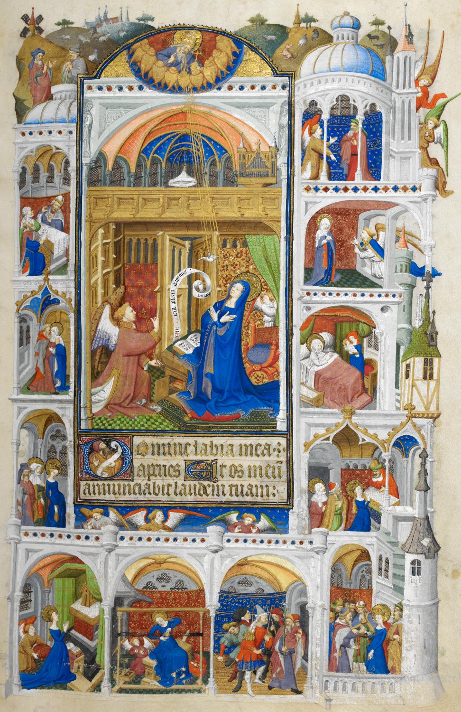 Heure de Bedford - L'annonciation (1415-1430)