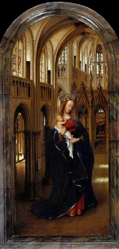 Jan van Eyck - Marie dans l'Eglise (1438-1440)