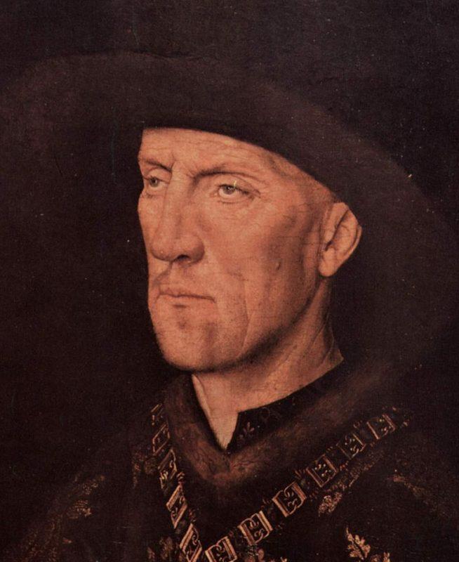 Jan Van Eyck - Baudouin de Lannoy +/- 1435