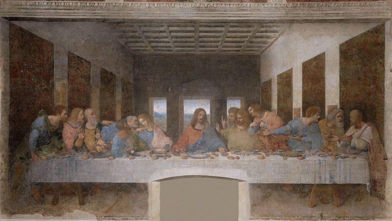 La Dernière Cène - Léonard De Vinci (1495-1498)