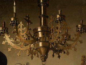 Van Eyck - Bougie brûle à droite