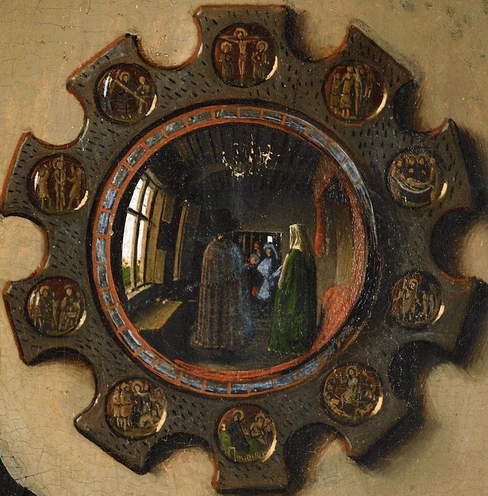 Arnolfini - miroir