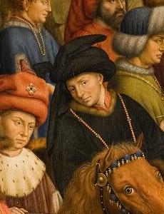 Autoportrait Van Eyck - l'agneau mystique