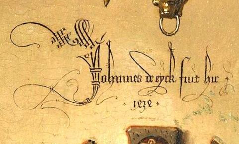 Johannes fuit hic 1434