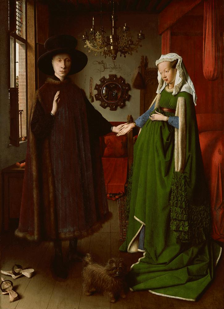 Van Eyck - Epoux Arnolfini