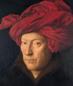 Van Eyck - l'homme au turban rouge