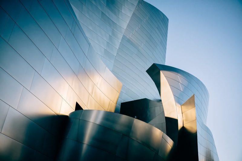 Los Angeles - Concert Hall Disney - Frank Gehry - Hofstadter