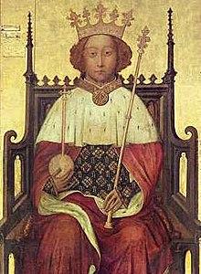 Richard II - Portrait de l'abbaye de Westminster